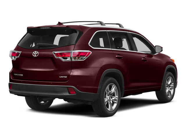 Ooh La La Rouge Mica 2015 Toyota Highlander Pictures Highlander Utility 4D LE 2WD I4 photos rear view
