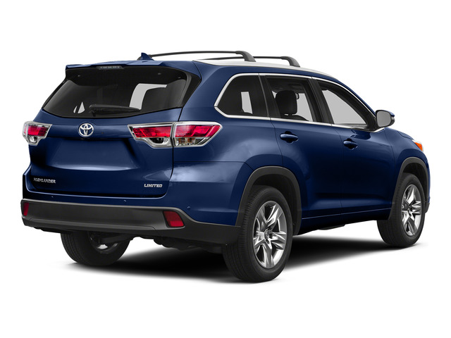 Nautical Blue Metallic 2015 Toyota Highlander Pictures Highlander Utility 4D Limited 2WD V6 photos rear view