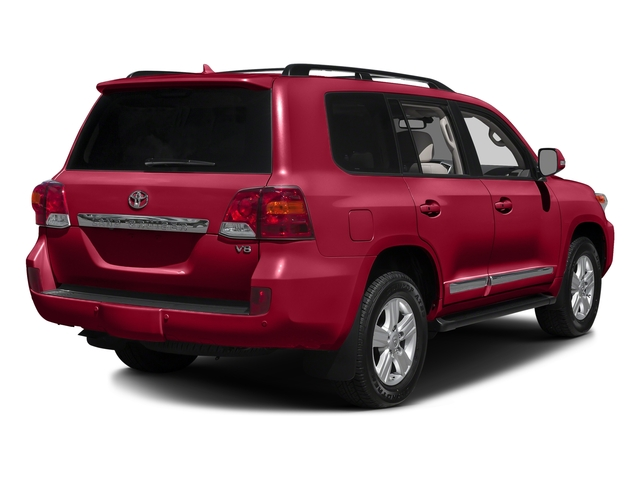 Salsa Red Pearl 2015 Toyota Land Cruiser Pictures Land Cruiser Utility 4D 4WD V8 photos rear view
