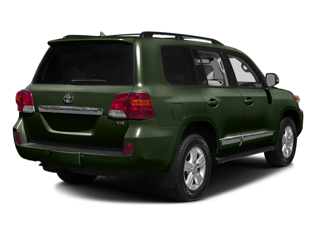Amazon Green Metallic 2015 Toyota Land Cruiser Pictures Land Cruiser Utility 4D 4WD V8 photos rear view