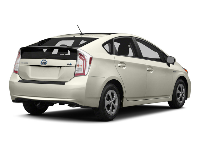 Blizzard Pearl 2015 Toyota Prius Pictures Prius Liftback 5D Five I4 Hybrid photos rear view