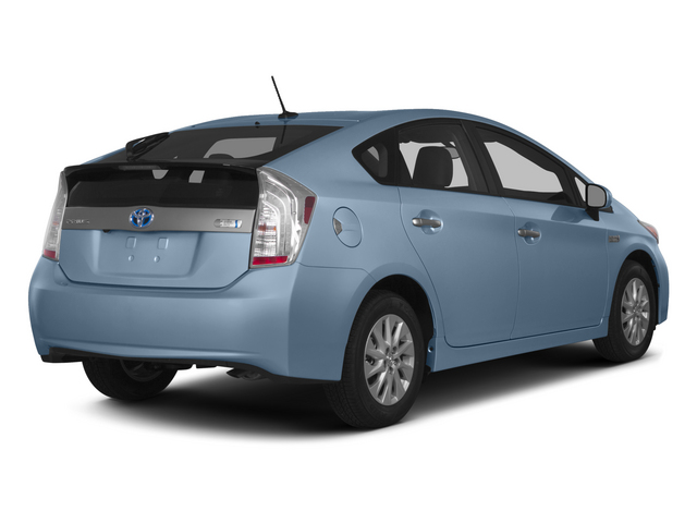 Clearwater Blue Metallic 2015 Toyota Prius Plug-In Pictures Prius Plug-In Liftback 5D Plug-In I4 Hybrid photos rear view