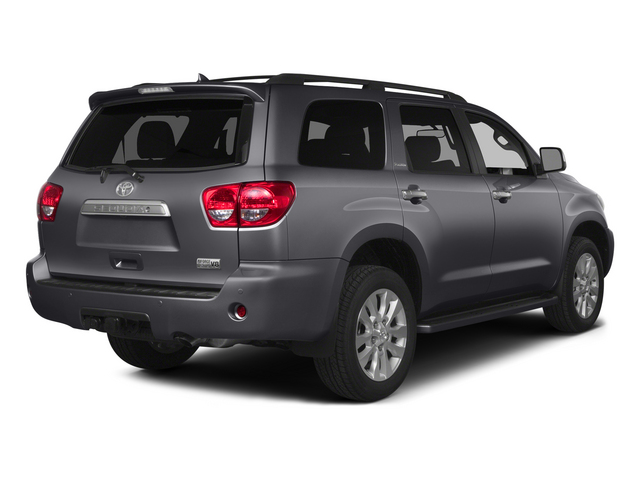 Magnetic Gray Metallic 2015 Toyota Sequoia Pictures Sequoia Utility 4D Limited 2WD V8 photos rear view