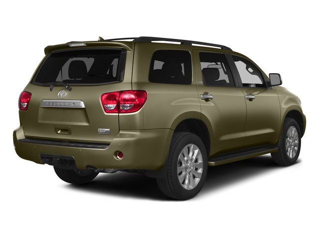Pyrite Mica 2015 Toyota Sequoia Pictures Sequoia Utility 4D Limited 2WD V8 photos rear view