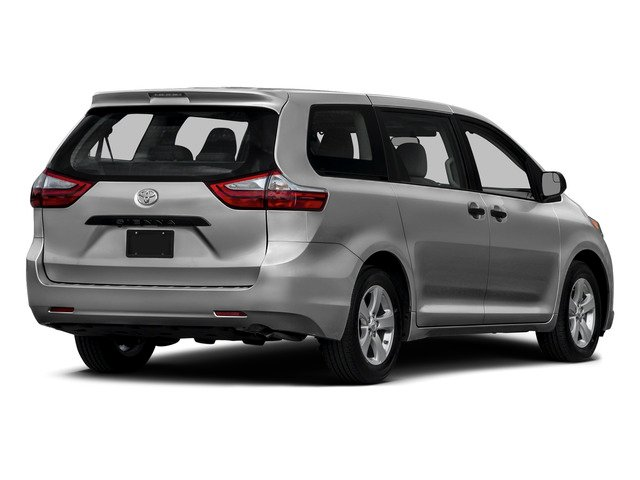 Silver Sky Metallic 2015 Toyota Sienna Pictures Sienna Wagon 5D LE V6 photos rear view