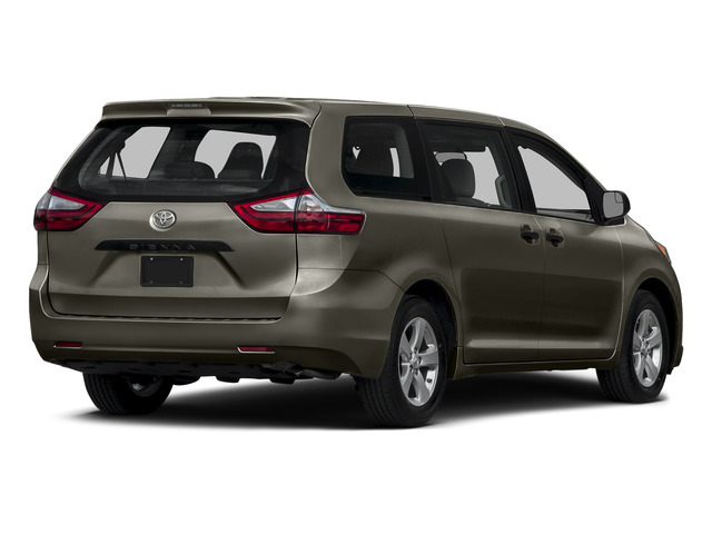 Predawn Gray Mica 2015 Toyota Sienna Pictures Sienna Wagon 5D LE V6 photos rear view