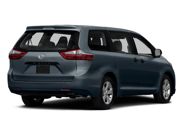 Shoreline Blue Pearl 2015 Toyota Sienna Pictures Sienna Wagon 5D LE V6 photos rear view