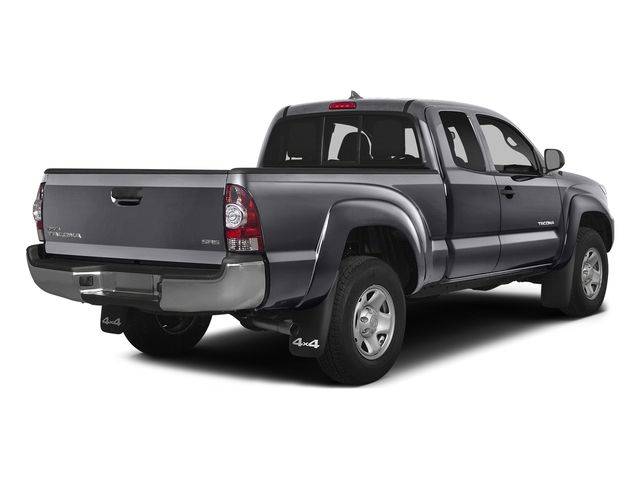 Magnetic Gray Metallic 2015 Toyota Tacoma Pictures Tacoma Base Access Cab 4WD V6 photos rear view