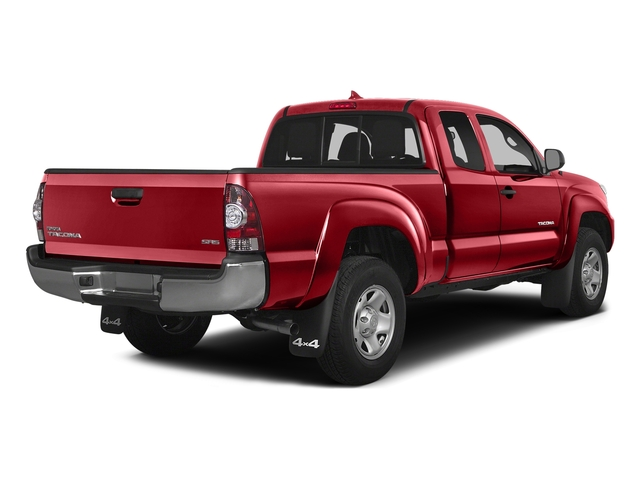 Barcelona Red Metallic 2015 Toyota Tacoma Pictures Tacoma Base Access Cab 4WD V6 photos rear view