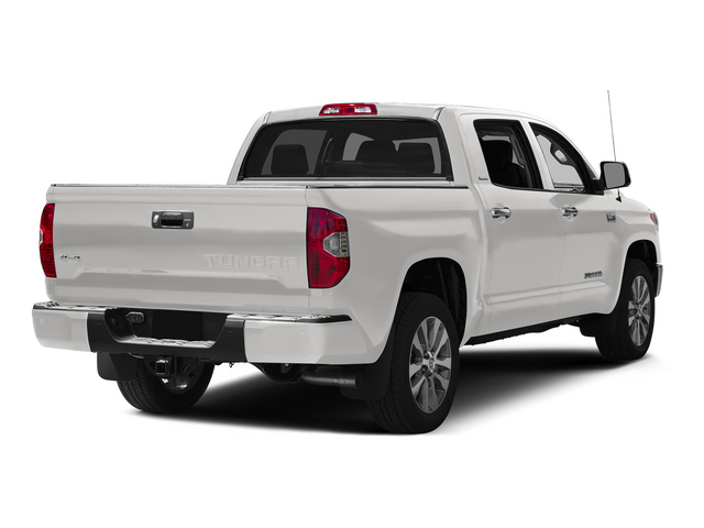 Super White 2015 Toyota Tundra 4WD Truck Pictures Tundra 4WD Truck Limited CrewMax 4WD photos rear view