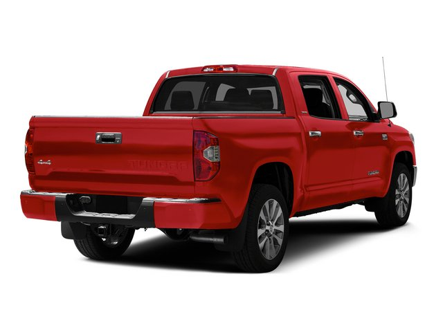 Radiant Red 2015 Toyota Tundra 4WD Truck Pictures Tundra 4WD Truck Limited CrewMax 4WD photos rear view