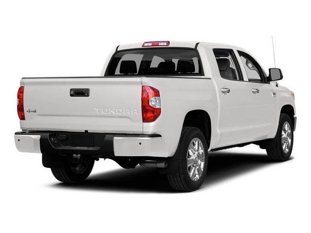 Super White 2015 Toyota Tundra 2WD Truck Pictures Tundra 2WD Truck 1794 Edition Crew Cab 2WD photos rear view