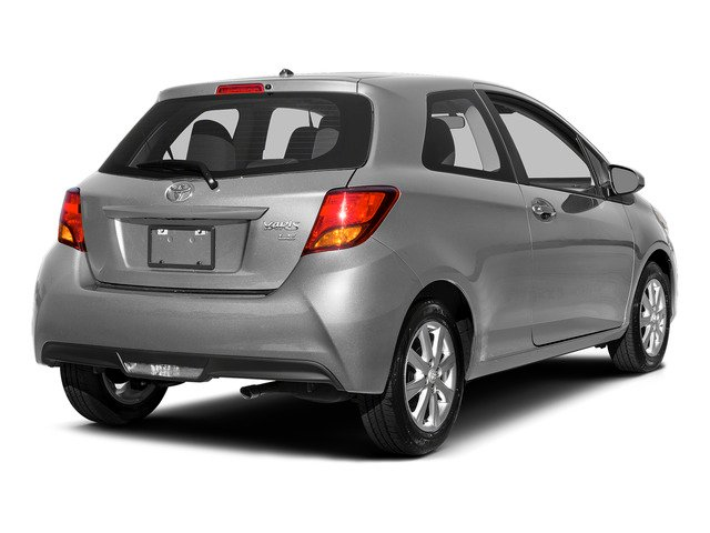 Classic Silver Metallic 2015 Toyota Yaris Pictures Yaris Hatchback 3D LE I4 photos rear view
