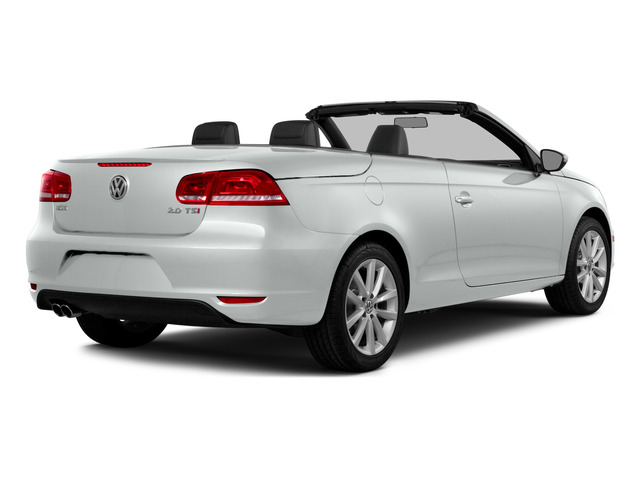 Pure White 2015 Volkswagen Eos Pictures Eos Convertible 2D Komfort I4 Turbo photos rear view