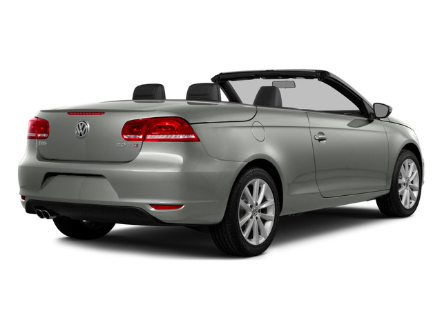 Reflex Silver Metallic 2015 Volkswagen Eos Pictures Eos Convertible 2D Komfort I4 Turbo photos rear view