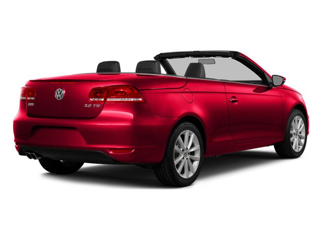 Flash Red 2015 Volkswagen Eos Pictures Eos Convertible 2D Komfort I4 Turbo photos rear view
