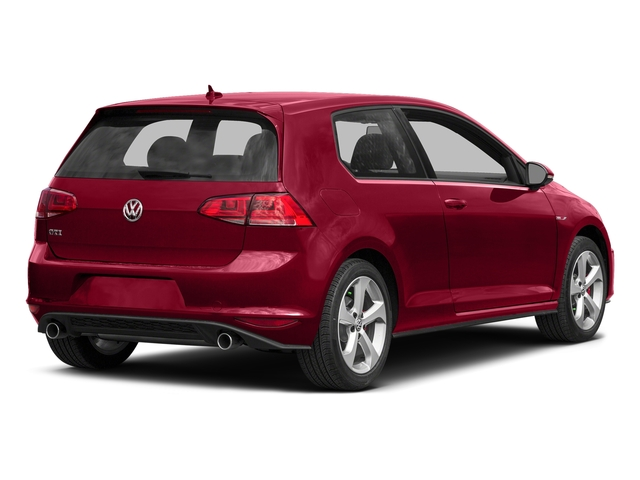 Tornado Red 2015 Volkswagen Golf GTI Pictures Golf GTI Hatchback 2D S I4 Turbo photos rear view