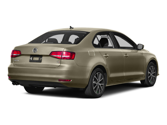 Moonrock Silver Metallic 2015 Volkswagen Jetta Sedan Pictures Jetta Sedan 4D SEL I4 Turbo photos rear view