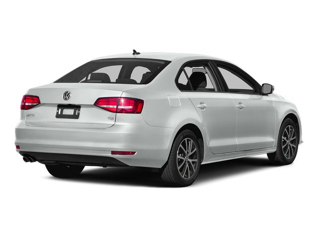 Pure White 2015 Volkswagen Jetta Sedan Pictures Jetta Sedan 4D SEL I4 Turbo photos rear view