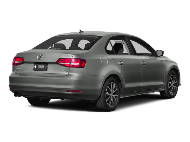 Platinum Gray Metallic 2015 Volkswagen Jetta Sedan Pictures Jetta Sedan 4D SEL I4 Turbo photos rear view