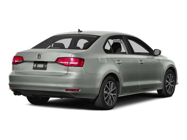 Reflex Silver Metallic 2015 Volkswagen Jetta Sedan Pictures Jetta Sedan 4D SEL I4 Turbo photos rear view