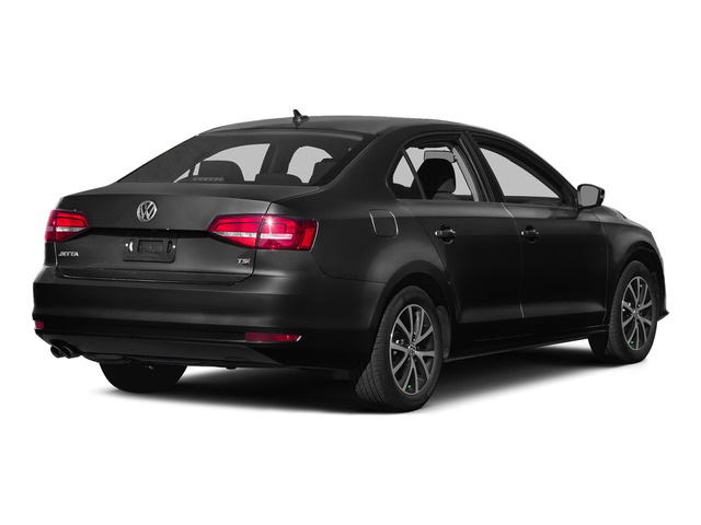 Black 2015 Volkswagen Jetta Sedan Pictures Jetta Sedan 4D SEL I4 Turbo photos rear view