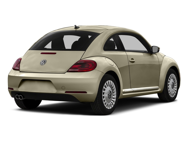 Moonrock Silver Metallic 2015 Volkswagen Beetle Coupe Pictures Beetle Coupe 2D 1.8T Entry I4 Turbo photos rear view