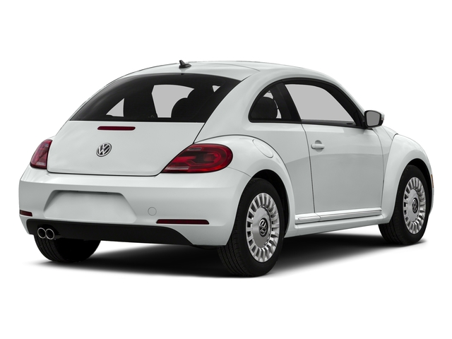 Pure White 2015 Volkswagen Beetle Coupe Pictures Beetle Coupe 2D 1.8T Entry I4 Turbo photos rear view
