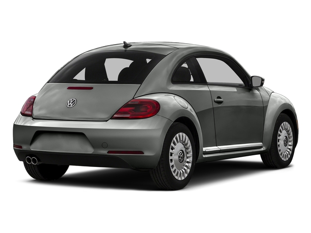 Platinum Gray Metallic 2015 Volkswagen Beetle Coupe Pictures Beetle Coupe 2D 1.8T Entry I4 Turbo photos rear view