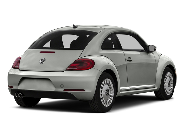 Reflex Silver Metallic 2015 Volkswagen Beetle Coupe Pictures Beetle Coupe 2D TDI I4 photos rear view