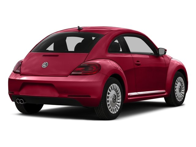 Tornado Red 2015 Volkswagen Beetle Coupe Pictures Beetle Coupe 2D 1.8T Entry I4 Turbo photos rear view