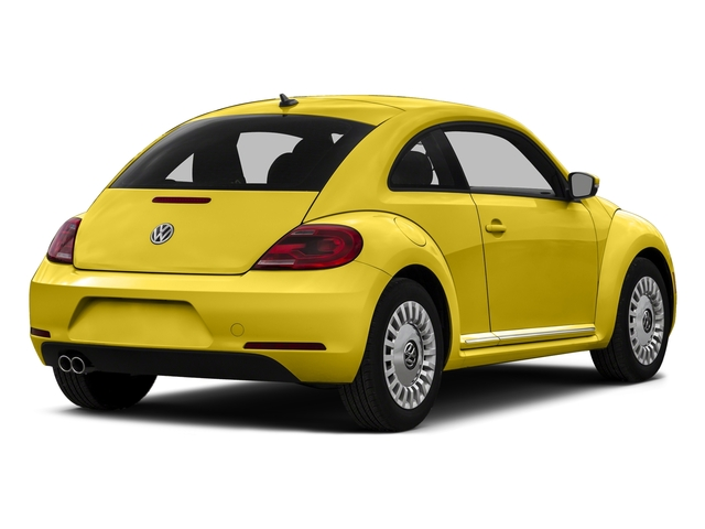 Yellow Rush 2015 Volkswagen Beetle Coupe Pictures Beetle Coupe 2D 1.8T Entry I4 Turbo photos rear view