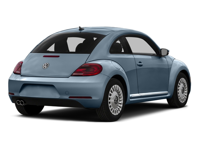 Denim Blue 2015 Volkswagen Beetle Coupe Pictures Beetle Coupe 2D 1.8T Entry I4 Turbo photos rear view