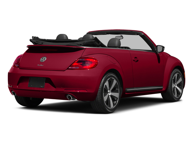 Tornado Red/Black Roof 2015 Volkswagen Beetle Convertible Pictures Beetle Convertible Convertible 2D R-Line I4 Turbo photos rear view