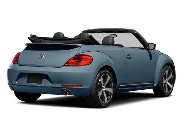 Denim Blue/Black Roof 2015 Volkswagen Beetle Convertible Pictures Beetle Convertible Convertible 2D R-Line I4 Turbo photos rear view