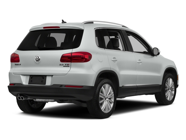 Pure White 2015 Volkswagen Tiguan Pictures Tiguan Utility 4D R-Line AWD I4 Turbo photos rear view