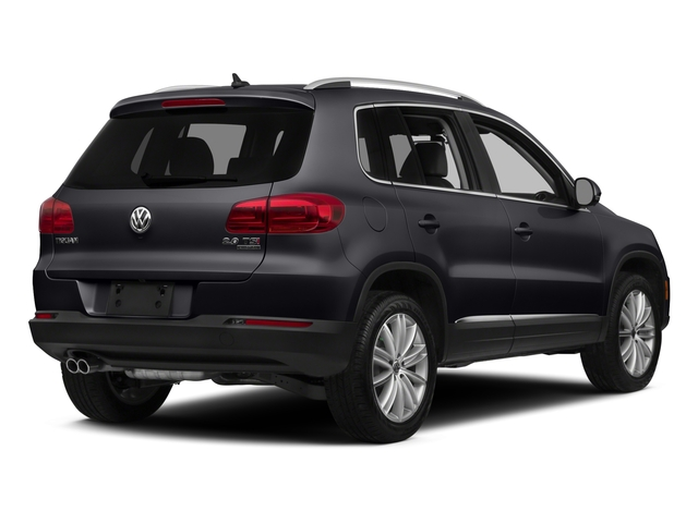 Deep Black Pearl 2015 Volkswagen Tiguan Pictures Tiguan Utility 4D R-Line AWD I4 Turbo photos rear view