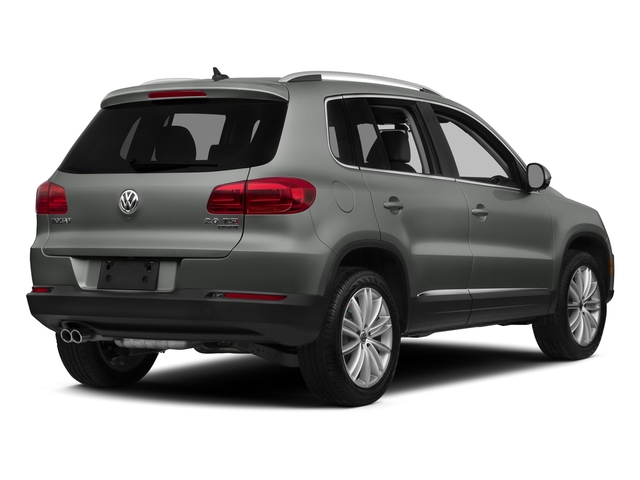 Pepper Gray Metallic 2015 Volkswagen Tiguan Pictures Tiguan Utility 4D R-Line AWD I4 Turbo photos rear view