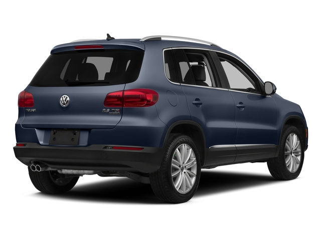 Night Blue Metallic 2015 Volkswagen Tiguan Pictures Tiguan Utility 4D R-Line AWD I4 Turbo photos rear view