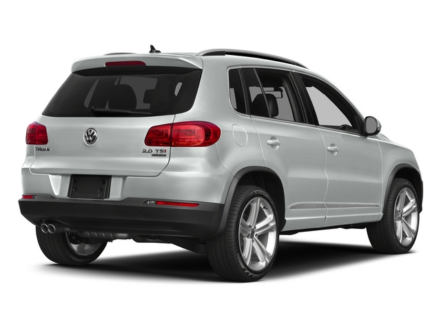 Pure White 2015 Volkswagen Tiguan Pictures Tiguan Utility 4D R-Line 2WD I4 Turbo photos rear view