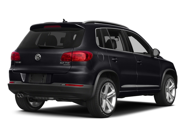 Deep Black Pearl 2015 Volkswagen Tiguan Pictures Tiguan Utility 4D R-Line 2WD I4 Turbo photos rear view