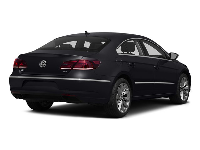 Deep Black Pearl 2015 Volkswagen CC Pictures CC Sedan 4D Sport I4 Turbo photos rear view