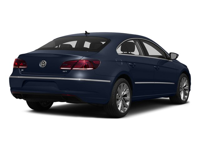 Night Blue Metallic 2015 Volkswagen CC Pictures CC Sedan 4D Sport I4 Turbo photos rear view