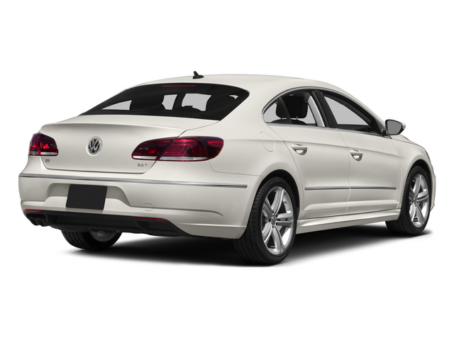 Pure White 2015 Volkswagen CC Pictures CC Sedan 4D R-Line I4 Turbo photos rear view