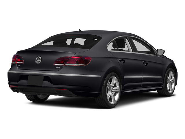 Deep Black Pearl 2015 Volkswagen CC Pictures CC Sedan 4D R-Line I4 Turbo photos rear view
