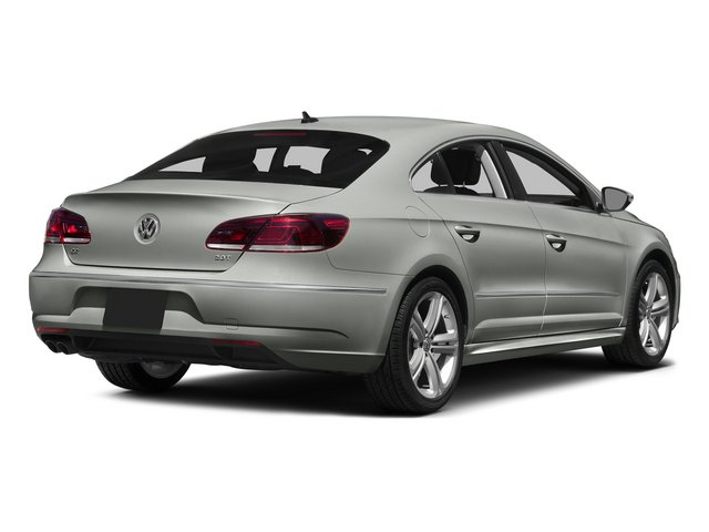 Reflex Silver Metallic 2015 Volkswagen CC Pictures CC Sedan 4D R-Line I4 Turbo photos rear view