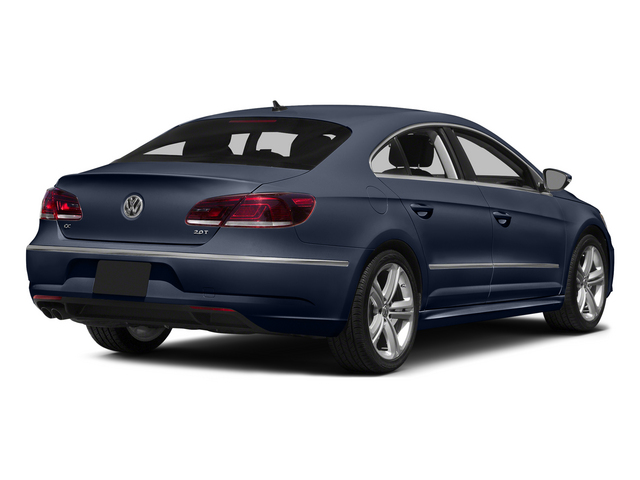 Night Blue Metallic 2015 Volkswagen CC Pictures CC Sedan 4D R-Line I4 Turbo photos rear view