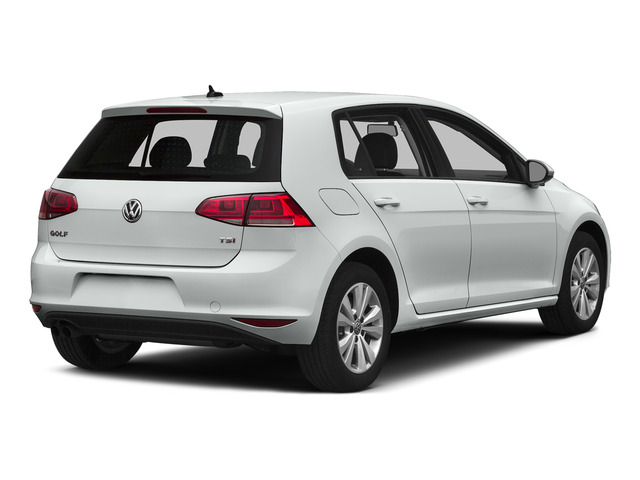 Pure White 2015 Volkswagen Golf Pictures Golf Hatchback 4D SEL I4 Turbo photos rear view
