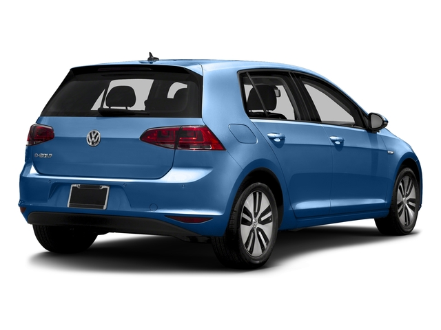 Pacific Blue 2015 Volkswagen e-Golf Pictures e-Golf Hatchback 4D e-Golf Electric photos rear view