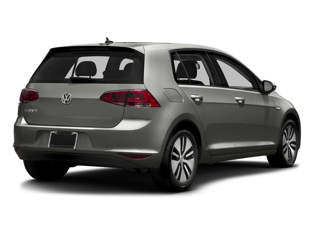 Limestone Gray 2015 Volkswagen e-Golf Pictures e-Golf Hatchback 4D e-Golf Electric photos rear view